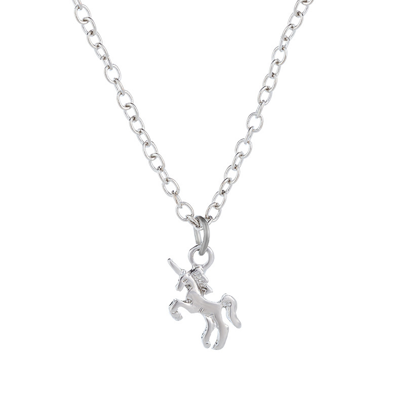 new trendy  pony necklace  NHAN266328