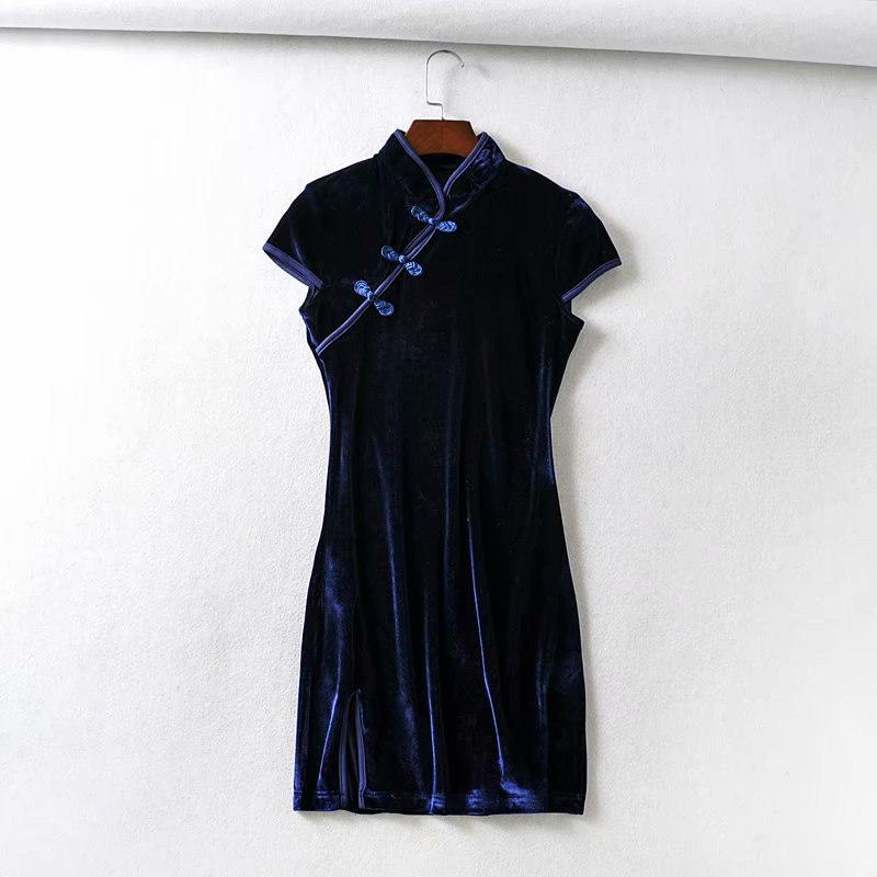 Spring fashion Chinese style cheongsam dress wholesale NHAM198496