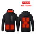 厂家直销智能加热冲锋衣 冬季新款USB电热发热服男女户外棉衣外套
