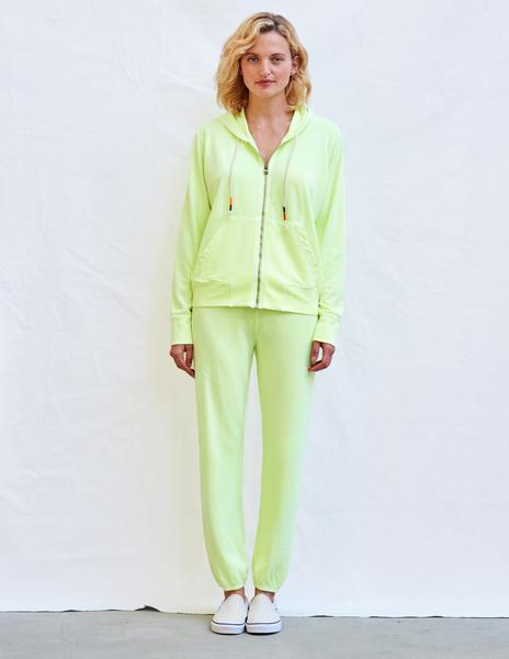 Spring and summer 2020 new European and American home clothes leisure two-piece women's summer Amazon long sleeve Hoodie Pants Set