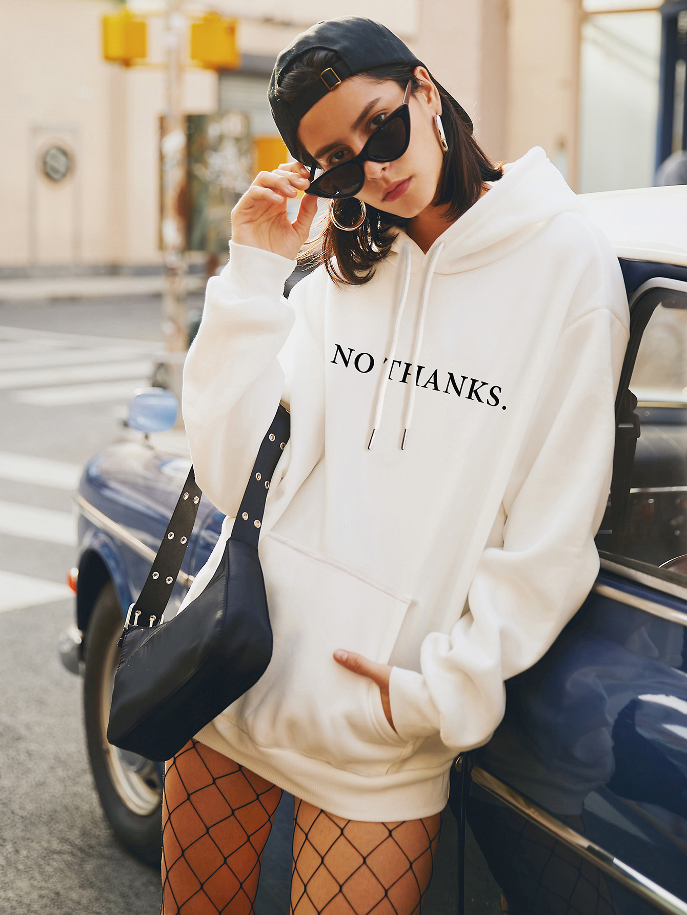 Fashion autumn new women's hooded casual plus size sweater NHSN264193