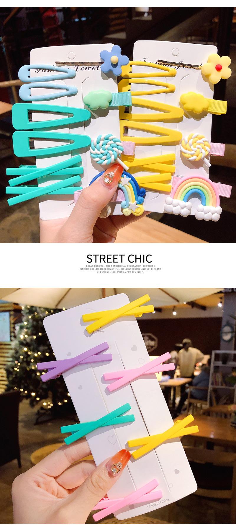 Korean girl cute sweet cheap hairpin wholesale NHNA207436