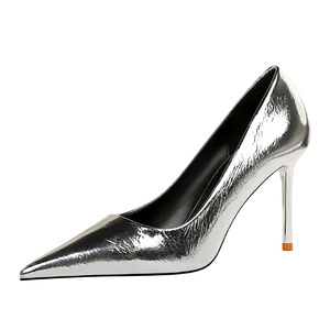 6826-16 European and American wind fashion sexy nightclub show thin high heels for women's shoes with shallow thin mouth