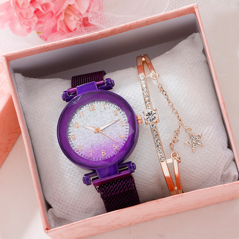with bracelet ladies wrist watch set lad...