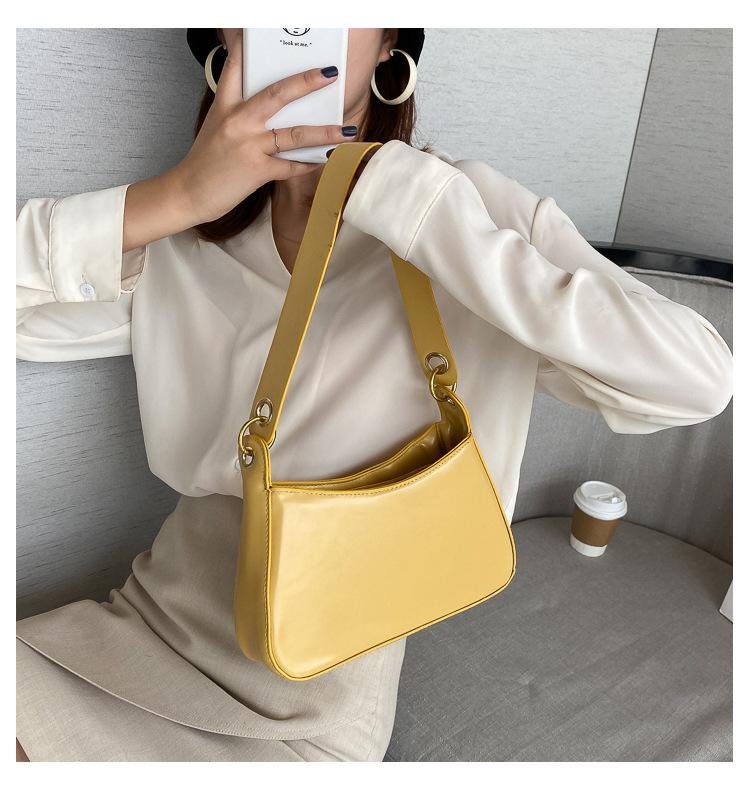 Fashion new trendy wild simple shoulder women's handbag wholesale  NHRU261558