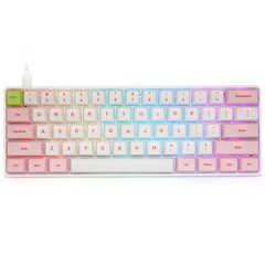 لوحة مفاتيح الألعاب الميكانيكية SK61 ، الشاي الأخضر ، الأسود ، المحور ، RGB61 ، لوحة مفاتيح الألعاب الرئيسية