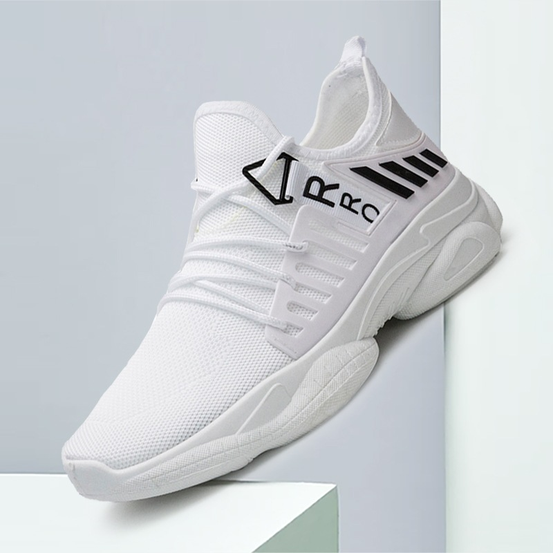 2020 Spring New Wild Personality Leisure Shoes Trend Strap Motion Men's Running Simple Fashion Men's Shoes