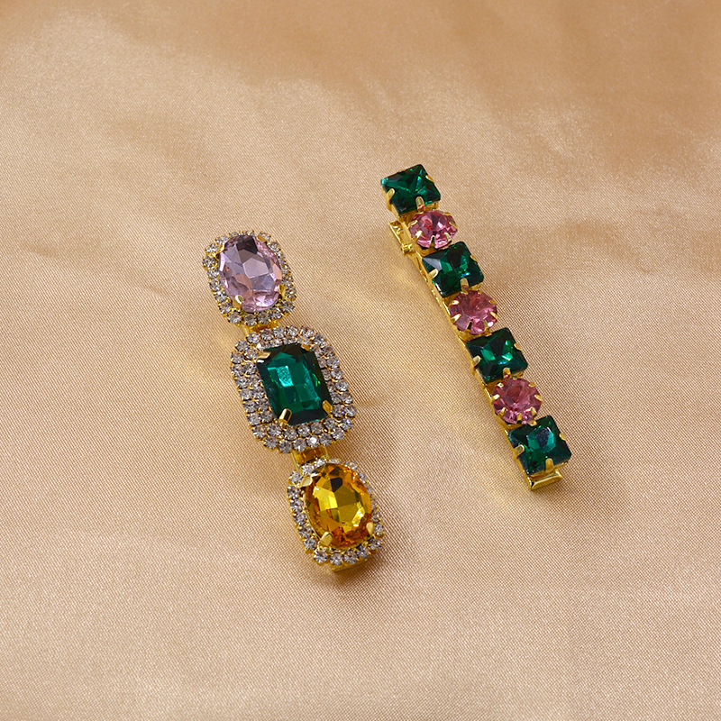 New fashion simple crystal diamond cheap hairpin wholesale NHNT207267
