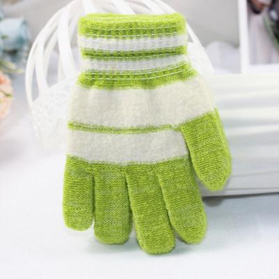 货源秋冬儿童针织手套 户外保暖小孩毛线手套  学生防寒地摊手套批发批发
