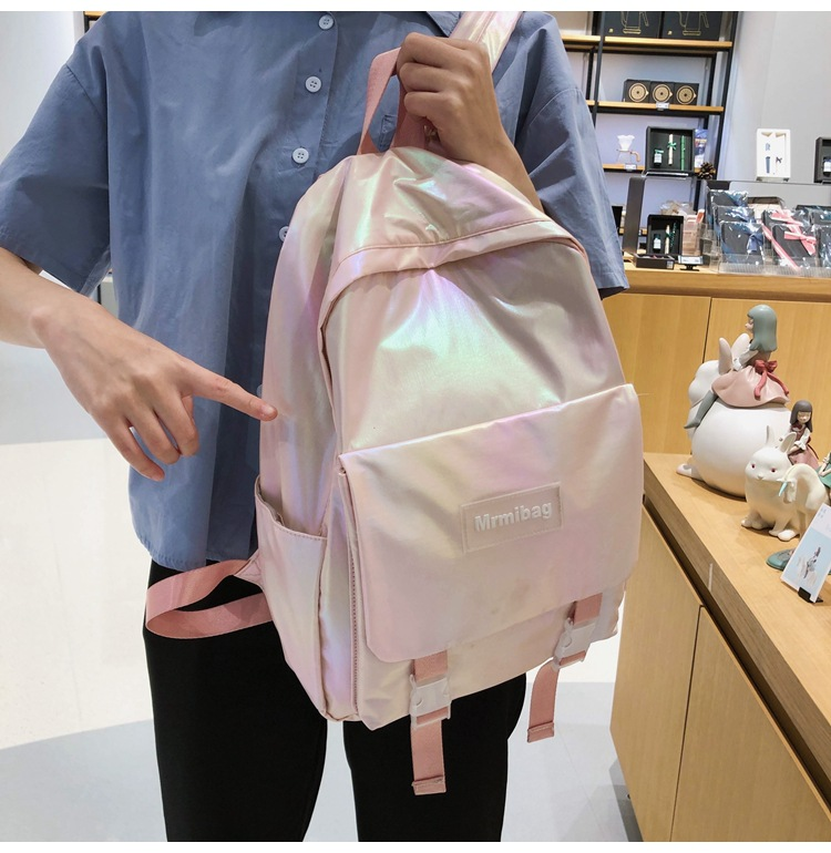 simple large capacity gradient color backpack NHLH273642