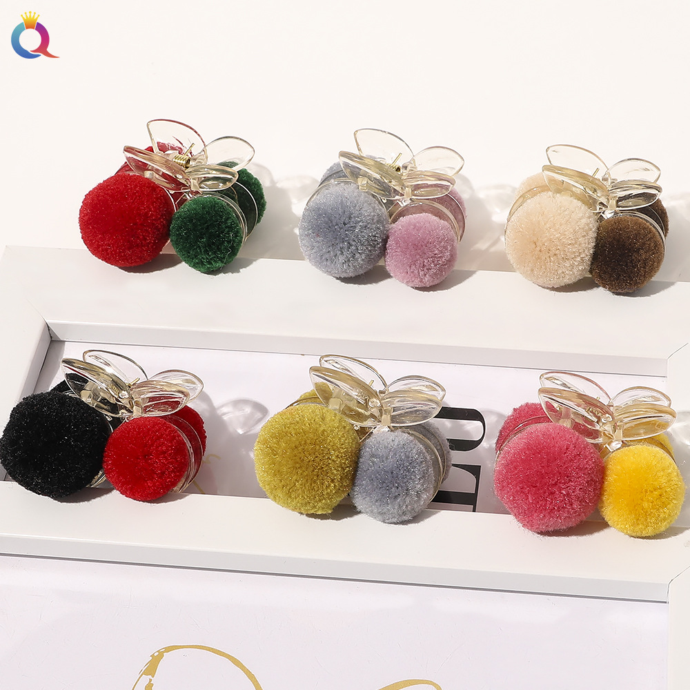 hair ball elegant hair clip  NHDM274359