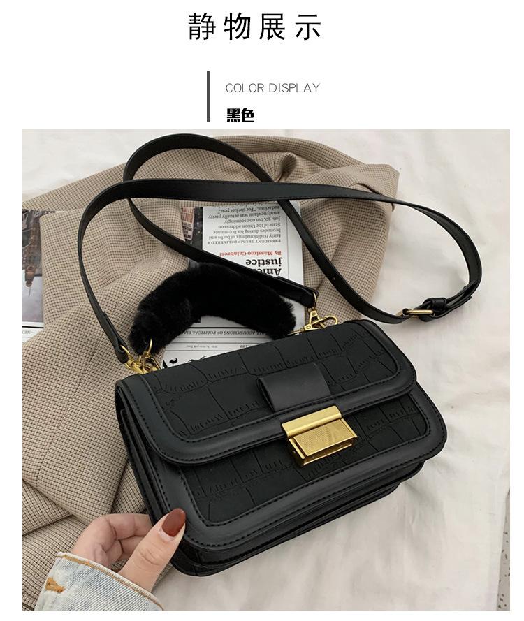 new trendy Korean  allmatch  retro  fashion shoulder bag  NHLH282785