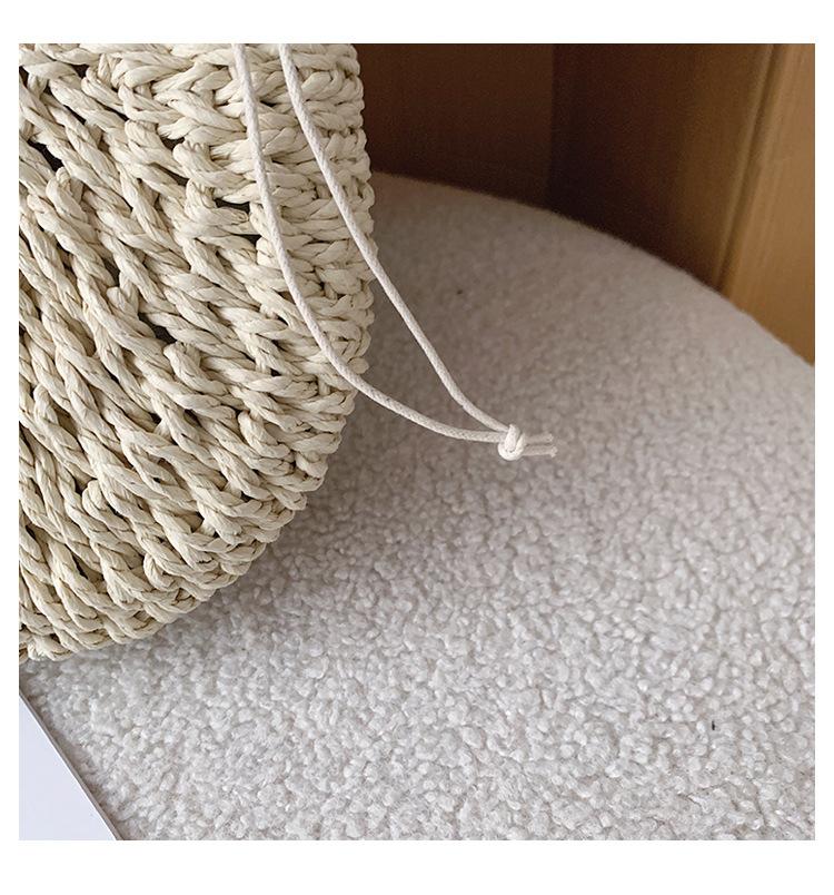 Women's bag wholesale nihaojewelry new fashion straw bag messenger bag handbag NHTC213104