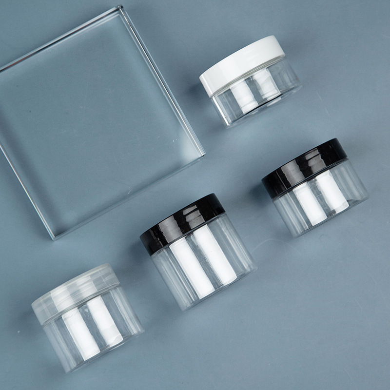 Cream Bottle Jar Cosmetics Storage Bottle Pet Sealed Plastic Cans Cream Bottle DCH472 3