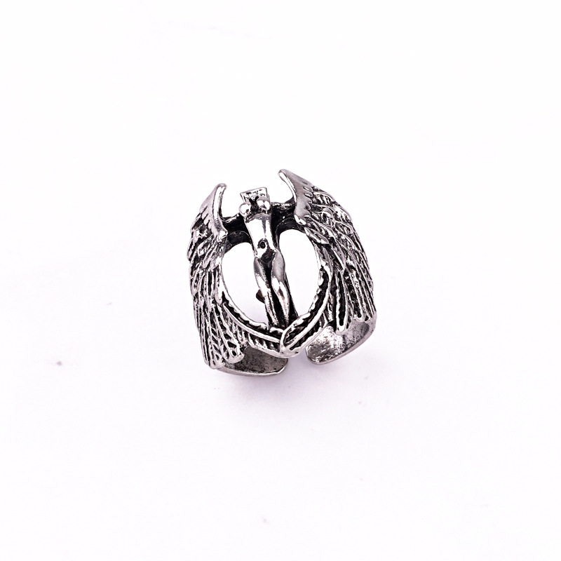 hot-selling jewelry retro punk hip hop skull compass dragon men's ring wholesale nihaojewelry NHGO245912
