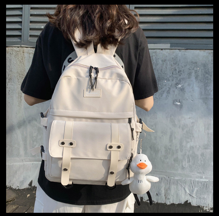 Korean fashion  high school   new college student backpack Mori large capacity  student backpack wholesale NHTC227498