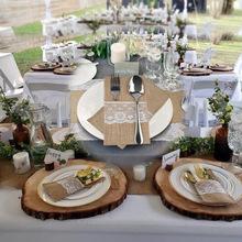 麻布蕾丝刀叉袋 圣誕装饰麻布刀叉袋 婚礼节庆婚庆派对用品