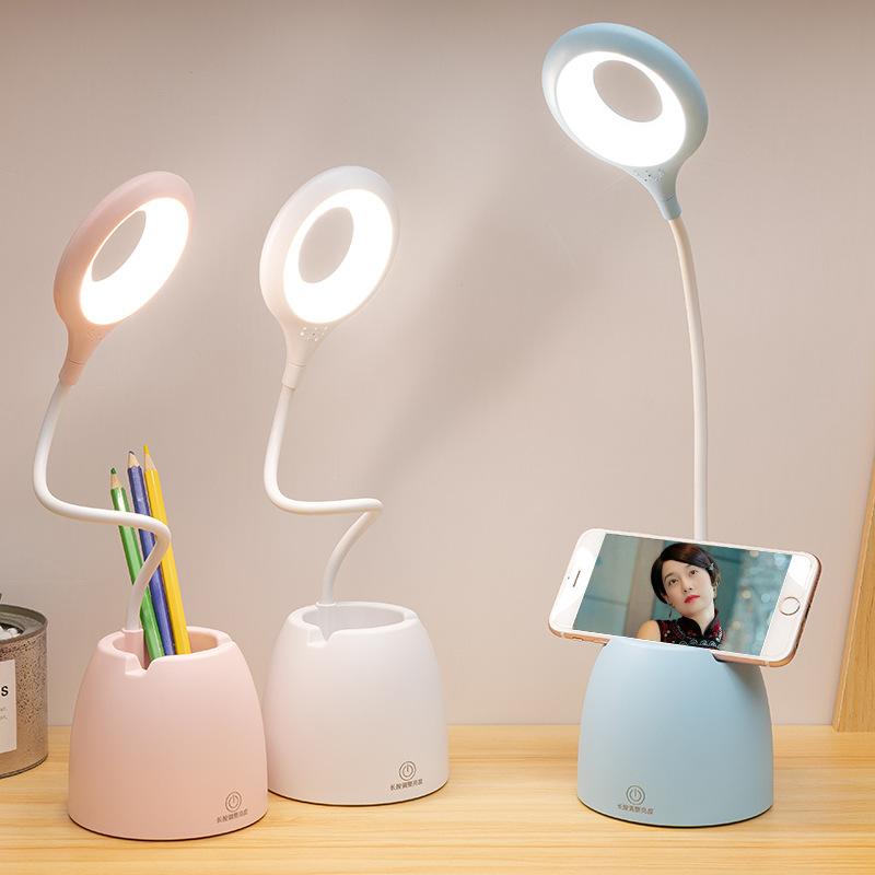 台灯护眼led学习创意礼品宿舍书桌功能学生台灯usb充电折叠台灯