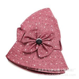 មួក នារី Women Hat Mother Foldable Fisherman Basin Hat PZ689447