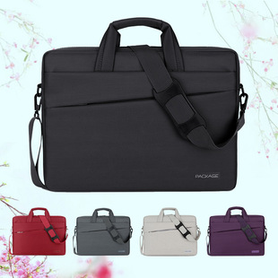 Computer bag customization Apple MacBook Huawei Xiaomi laptop bag Business style computer handbag