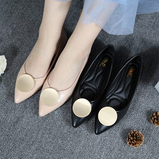 Pointed single shoes women work shoes women high-end women's shoes large size women's shoes foreign trade single shoes women autumn and winter