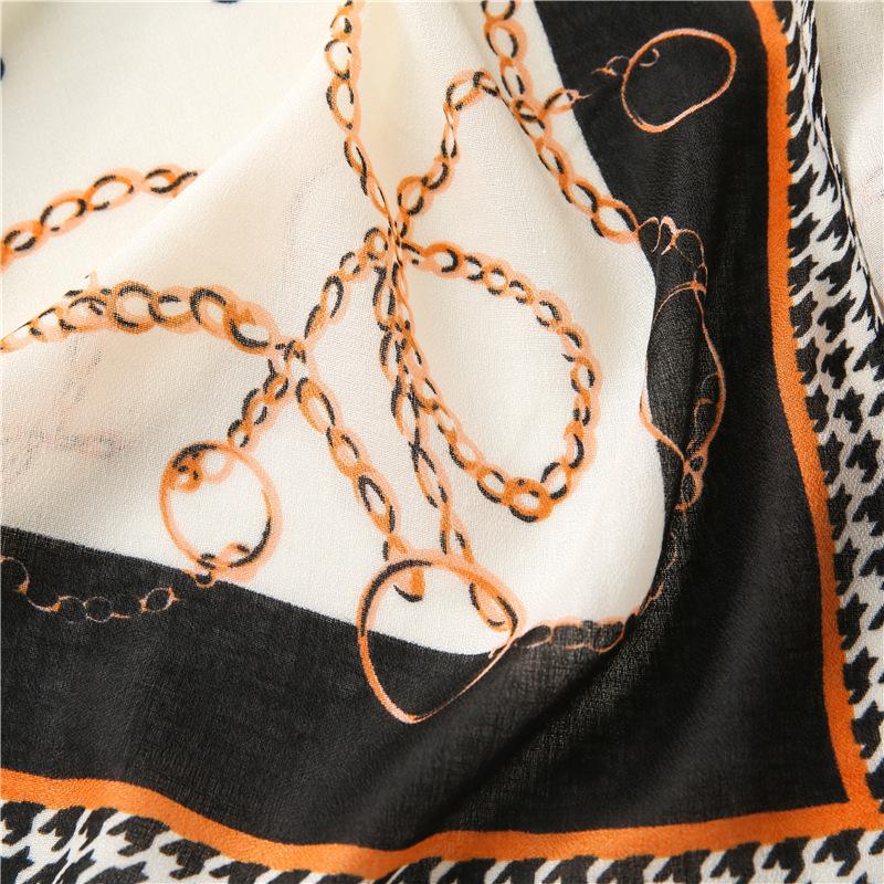 new cotton and linen printed women fashion shawl warm scarf NHGD270014