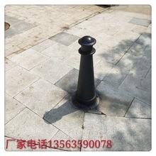 广东广州直销铸铁罗马柱 街道景区球墨铸铁挡车柱 市政道路柱子