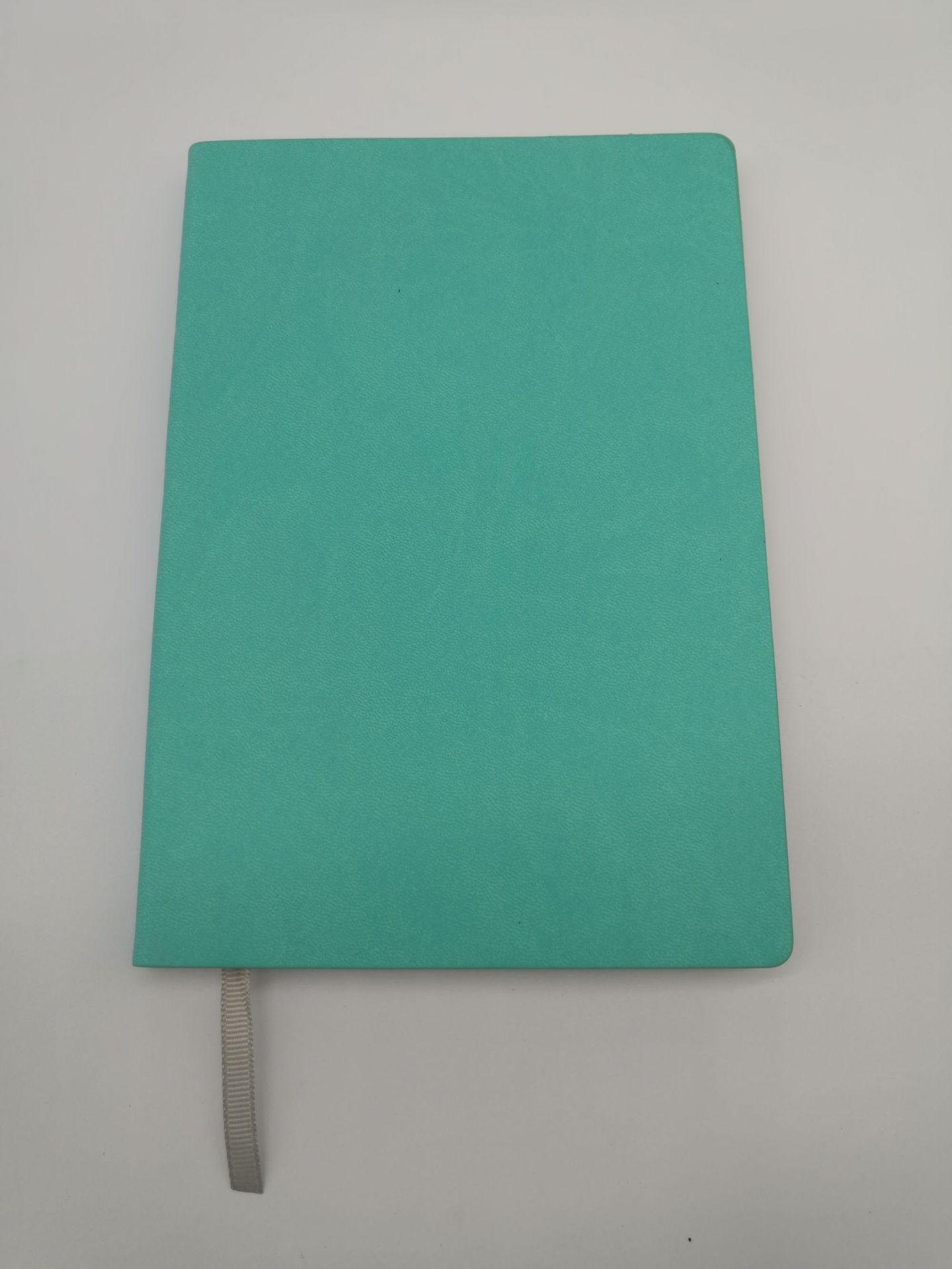 平纹变色PU系列A5软皮裱装本广告礼品本子批量定制可加印LOGO