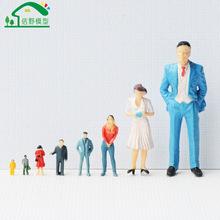 DIY手工建筑材料迷你沙盘人物模型仿真人偶微景观模型小人批发店