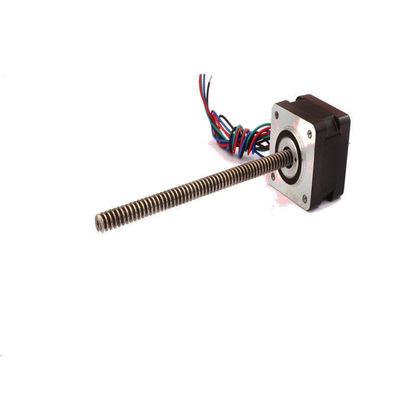 厂家直销 35HBSG27贯通式升降丝杆电机 监控设备专用静音丝杆电机