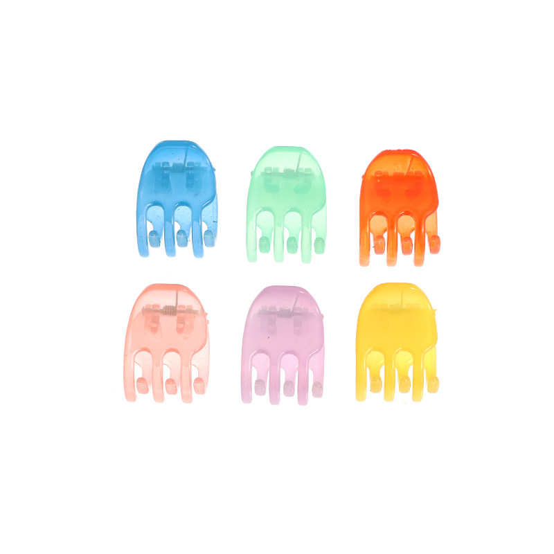 sweet candy color small catch clip color mini clip fashion solid color small hair clip wholesale NHAU240855