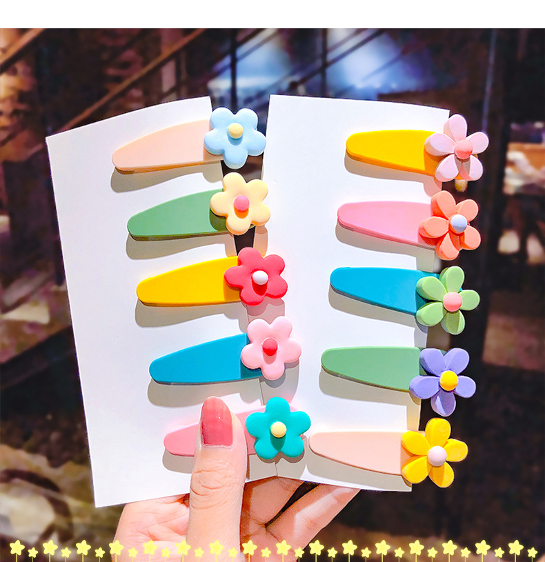 Acrylic frosted children hairpin candy color cute animal hairpin girl baby small clip bangs clip hair accessories wholesale nihaojewelry NHNA221364