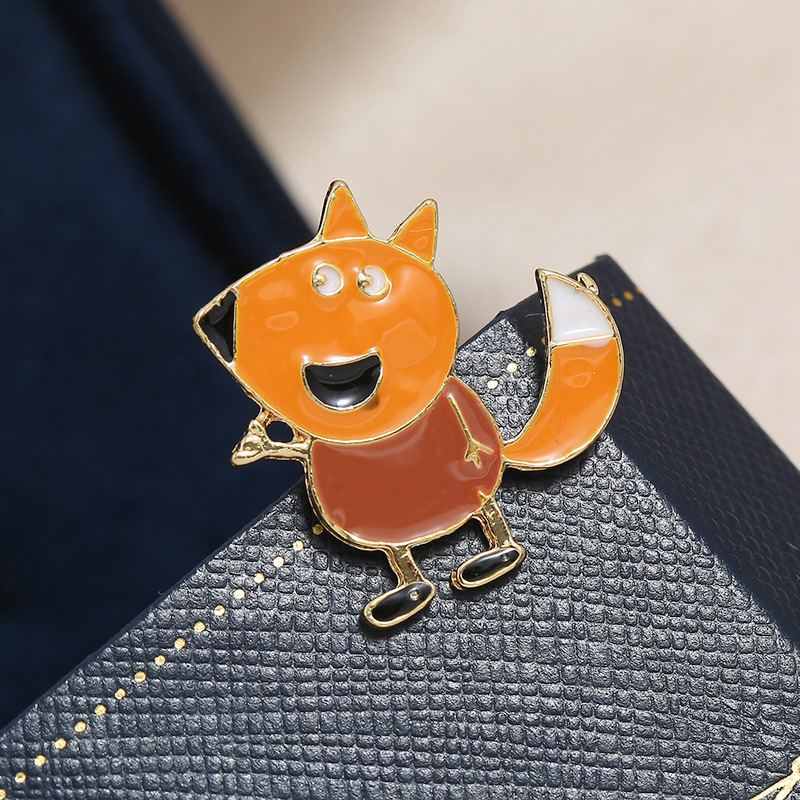 Brooch jewelry wholesale cartoon character oil drop brooch badge thorn pin NHKQ194167