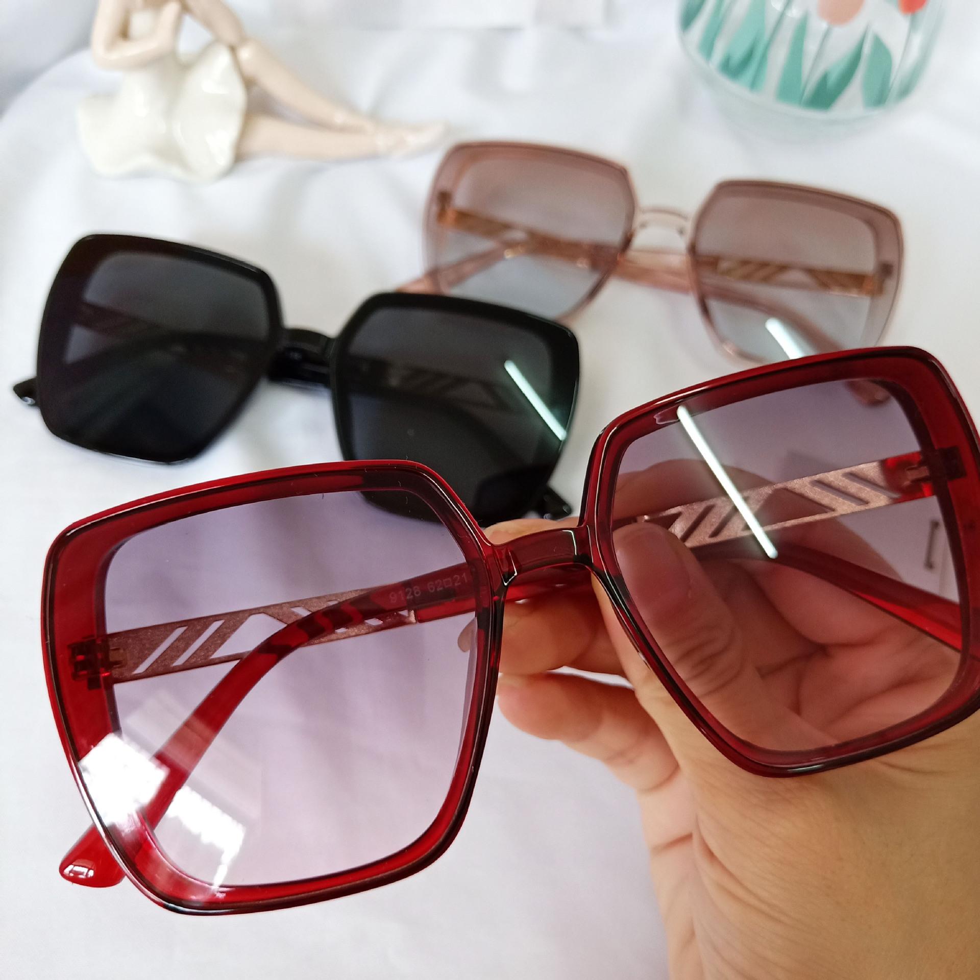 new retro fashion big frame trend box sunglasses wholesale NHBA244834