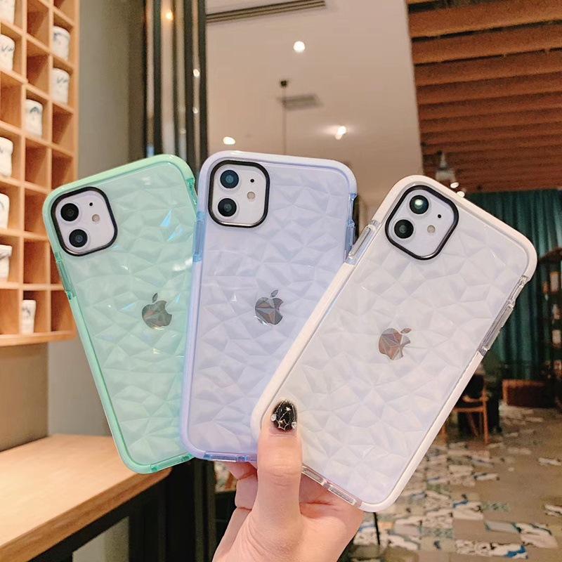 钻石纹手机壳iphonexs防摔保护套苹果11Pro MAX