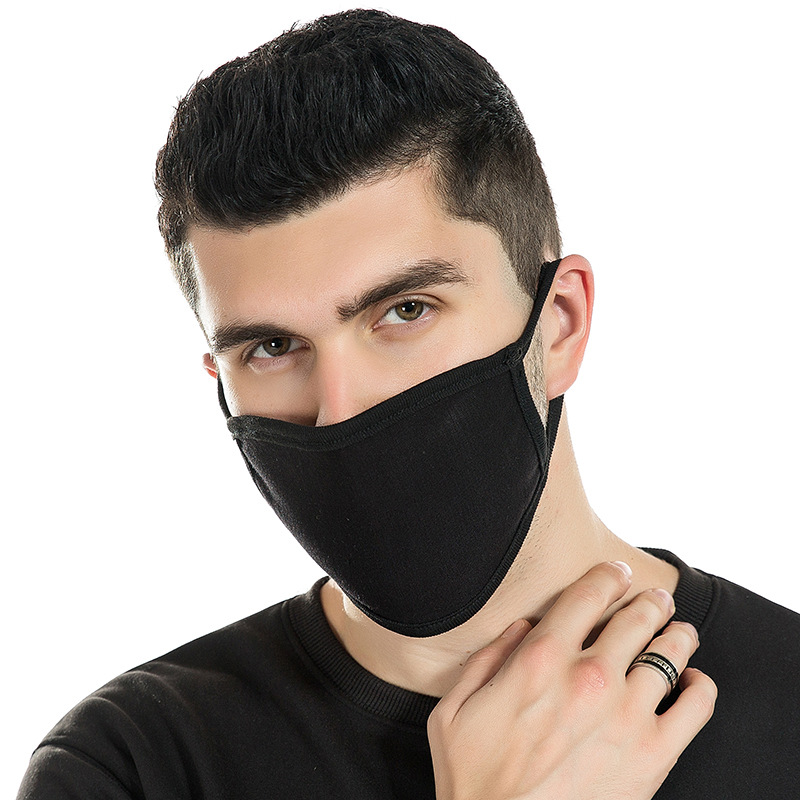 Spring And Summer Modale Men's Mask Dust Mask Fashion Mask Men's And Women's 2-layer Thin Mask