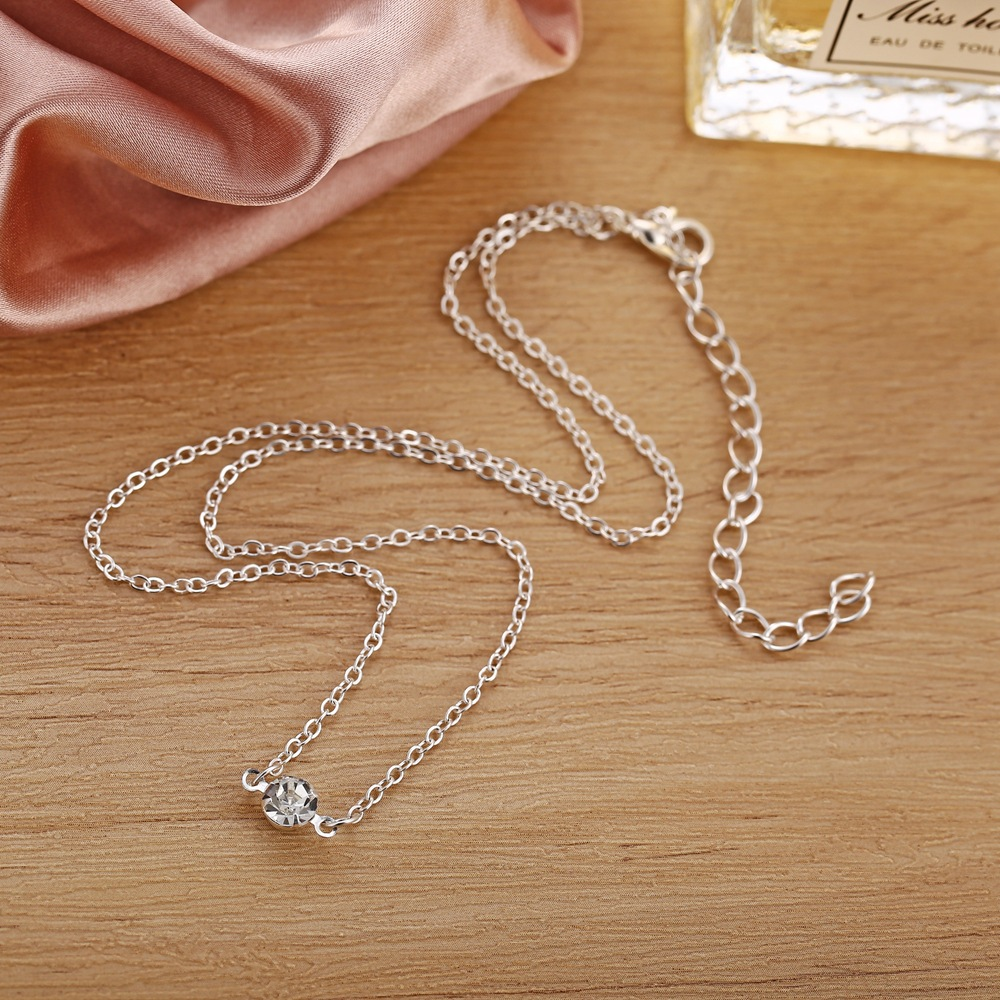 New necklace retro minimalist diamond necklace NHPJ203666