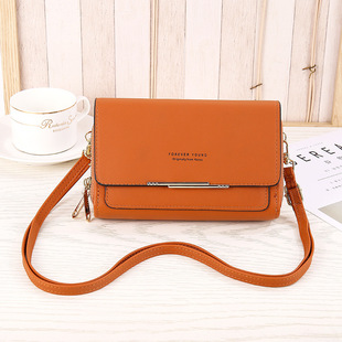 Korean women's new shoulder messenger bag, medium and long women's clutch bag, coin purse wallet in stock