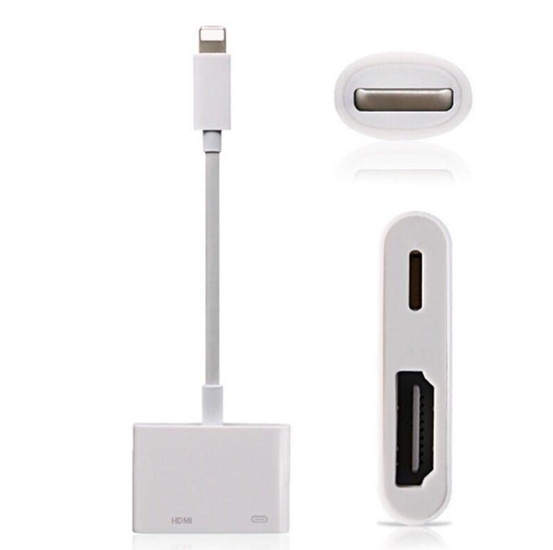 苹果转HDMI同屏线iphoneX转hdmi lightning to hdmi 支持升级系统