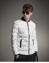 男士外套冬季2020新款帅气迷彩短款棉服连帽棉袄男款棉衣潮