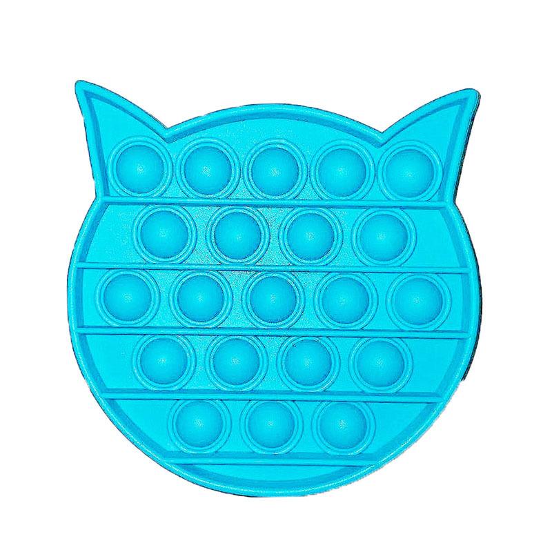 Cat head blue