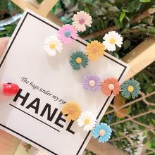春夏系ins花朵發夾女小雛菊發卡可愛邊夾甜美少女劉海側邊夾發飾
