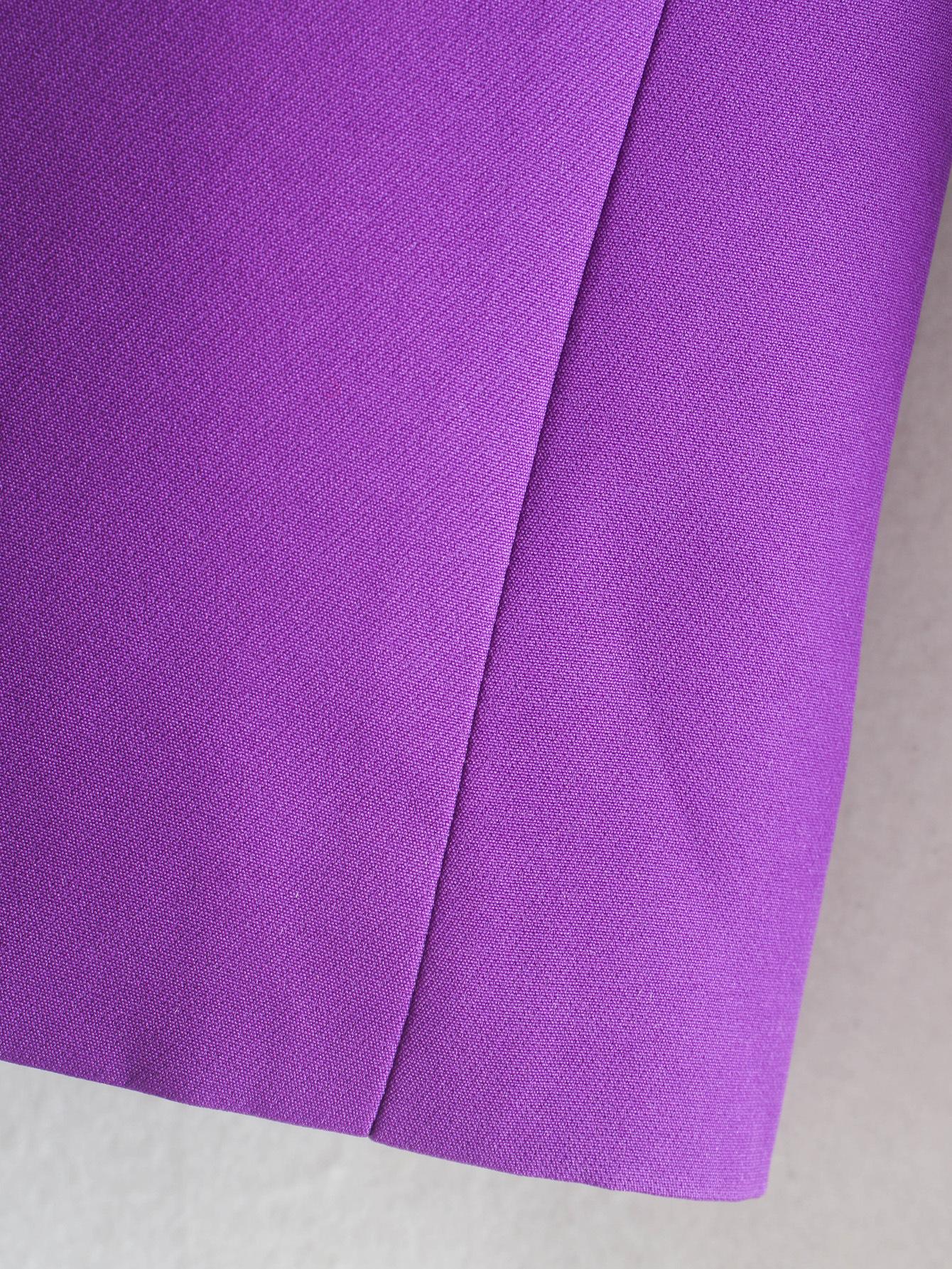 wholesale new women's simple lapel one button slim fit suit jacket NSAM3102
