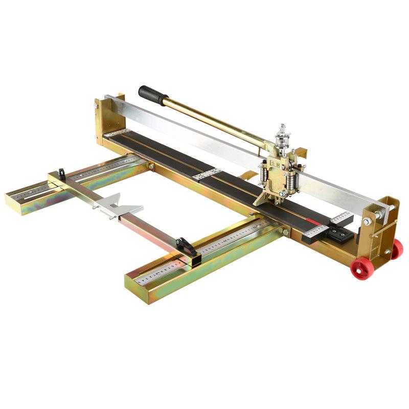 重型全钢型手动瓷砖瓷片切割机瓷砖推刀800到1200激光地砖切割机