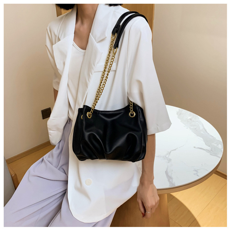 new trendy fashion messenger bag wild  single shoulder fold bag NHLH262759