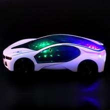 兒童寶寶電動玩具車仿真音樂小汽車跑車自動轉彎燈光萬向輪車模