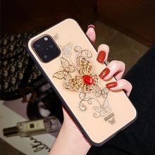 厂家批发适用苹果12手机壳iPhone12max软壳全包镶钻地摊