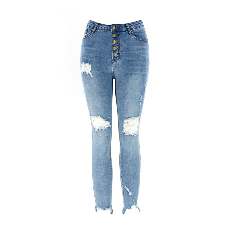 stretch high waist slim fit jeans  NSSY9891