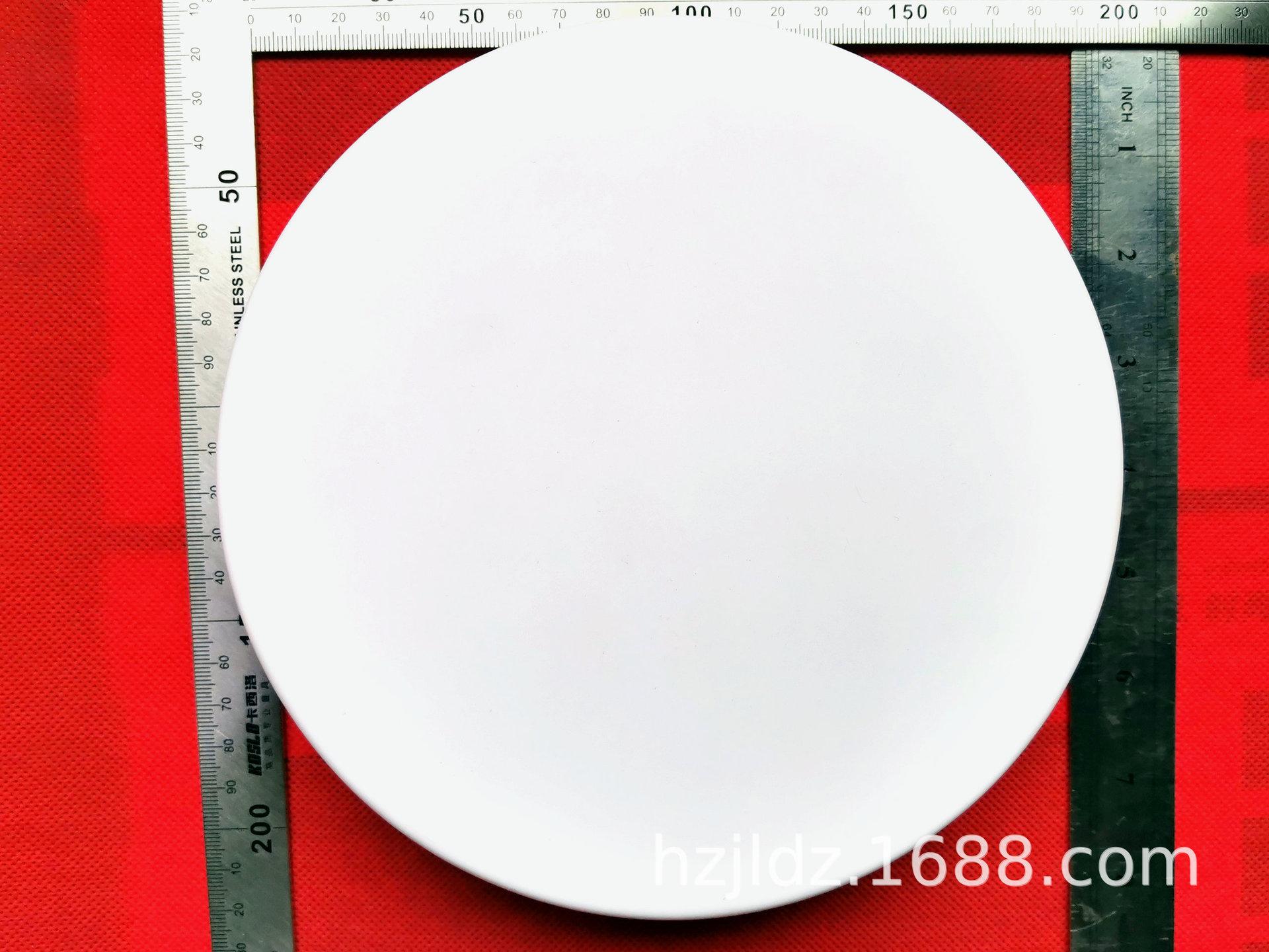自有模具直径159mm吹塑压克力乳白色半透明吸顶灯罩壁灯罩吊灯罩