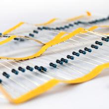 金膜電阻1/4W100K/R 電阻器包 電子電路設計制作 模型電路入門